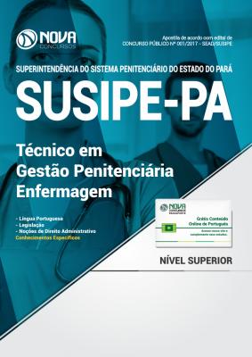 Apostila SUSIPE-PA - Técnico em Gestão Penitenciária: Enfermagem