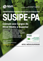 Apostila SUSIPE-PA - Comum aos Cargos de Nível Médio e Superior