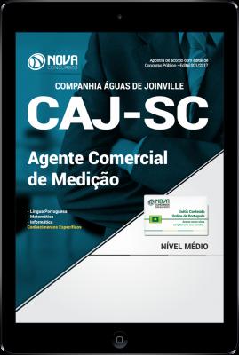 Download Apostila CAJ-SC PDF - Agente Comercial de Medição