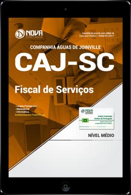Download Apostila CAJ-SC PDF - Fiscal de Serviços