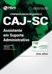 Apostila CAJ-SC - Assistente em Suporte Administrativo