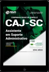 Download Apostila CAJ-SC PDF - Assistente em Suporte Administrativo