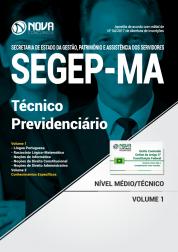 Apostila SEGEP-MA - Técnico Previdenciário
