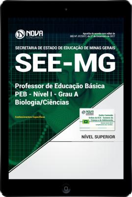 Download Apostila SEE-MG PDF - Professor de Educação Básica - PEB - Nível I - Grau A: Biologia/Ciências