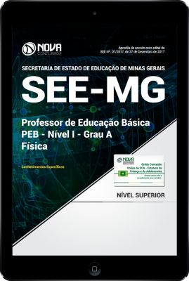 Download Apostila SEE-MG PDF - Professor de Educação Básica - PEB - Nível I - Grau A: Física