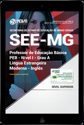 Download Apostila SEE-MG PDF - Professor de Educação Básica - PEB - Nível I - Grau A: Língua Estrangeira Moderna - Inglês