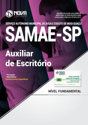 Apostila SAMAE Mogi Guaçu - SP - Auxiliar de Escritório