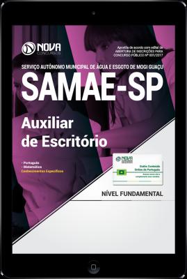 Download Apostila SAMAE Mogi Guaçu - SP PDF - Auxiliar de Escritório