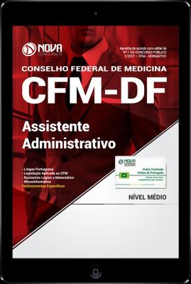 Download Apostila CFM-DF PDF - Assistente Administrativo