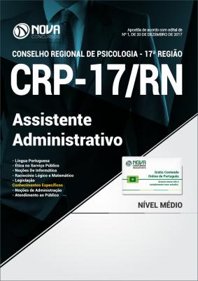 Apostila CRP-RN 17ª região - Assistente Administrativo