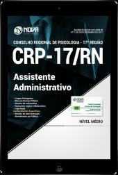 Download Apostila CRP-RN 17ª região PDF - Assistente Administrativo