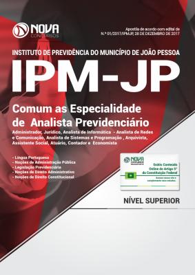 Apostila IPM João Pessoa - Comum as Especialidades de Analista Previdenciário