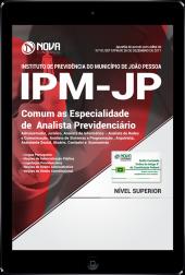 Download Apostila IPM João Pessoa PDF - Comum as Especialidades de Analista Previdenciário