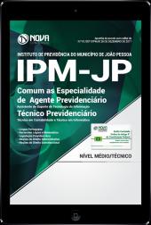 Download Apostila IPM João Pessoa PDF - Comum as Especialidades de Agente Previdenciário e Técnico Previdenciário