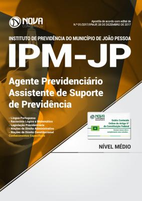 Apostila IPM João Pessoa - Assistente de Suporte de Previdência