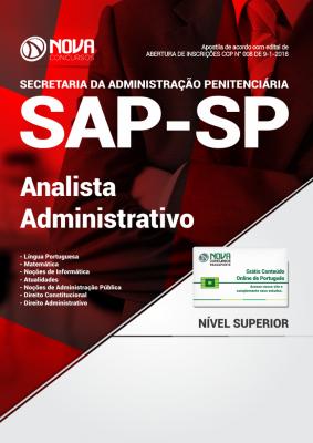 Apostila SAP-SP - Analista Administrativo