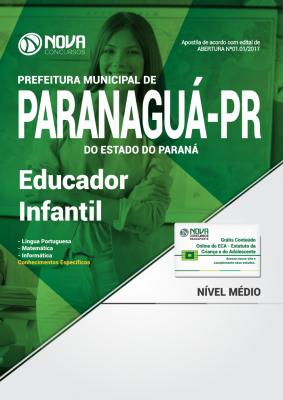Apostila Prefeitura de Paranaguá - PR - Educador Infantil