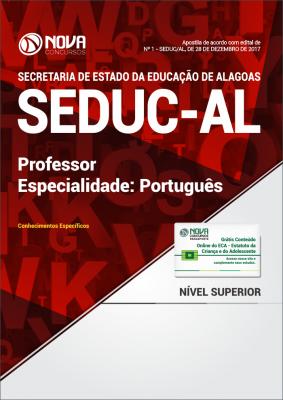Apostila SEDUC-AL - Professor - Especialidade: Português