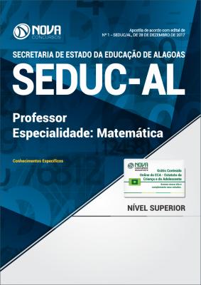 Apostila SEDUC-AL - Professor de Matemática