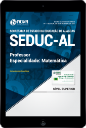 Download Apostila SEDUC-AL PDF - Professor de Matemática