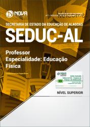 Apostila SEDUC-AL - Professor - Especialidade:  Educação Física