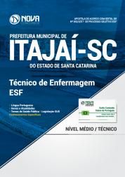 Apostila Prefeitura de Itajaí - SC - Técnico de Enfermagem ESF