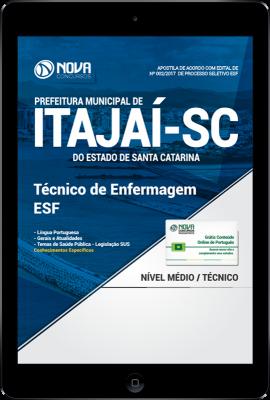 Download Apostila Prefeitura de Itajaí - SC PDF - Técnico de Enfermagem ESF