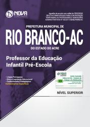 Apostila Prefeitura de Rio Branco - AC - Professor da Educação Infantil Pré-Escola