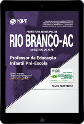 Download Apostila Prefeitura de Rio Branco - AC PDF - Professor da Educação Infantil Pré-Escola