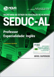 Apostila SEDUC-AL - Professor - Especialidade: Inglês