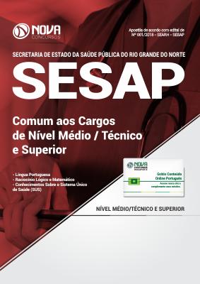 Apostila SESAP-RN - Comum aos Cargos de Nível Médio/Técnico e Superior