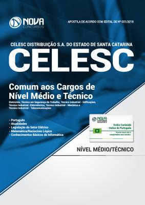 Apostila CELESC - Comum aos Cargos de  Cargos de Nível Médio e Técnico