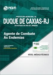 Apostila Prefeitura de Duque de Caxias - RJ - Agente de Combate as Endemias