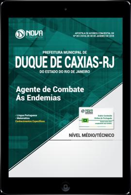 Download Apostila Prefeitura de Duque de Caxias - RJ - Agente de Combate as Endemias