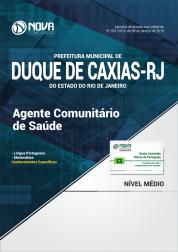 Apostila Prefeitura de Duque de Caxias - RJ - Agente Comunitário de Saúde
