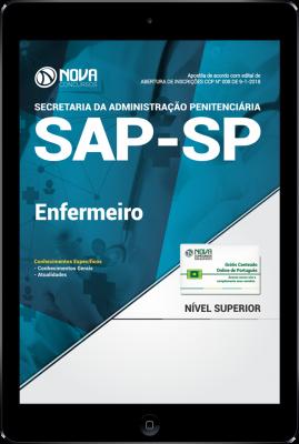 Download Apostila SAP-SP PDF - Enfermeiro