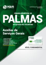Apostila Câmara Municipal de Palmas - TO - Auxiliar de Serviços Gerais
