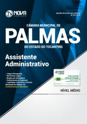 Apostila Câmara Municipal de Palmas - TO - Assistente Administrativo
