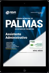 Download Apostila Câmara Municipal de Palmas - TO PDF - Assistente Administrativo
