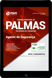 Download Apostila Câmara Municipal de Palmas - TO PDF - Agente de Segurança