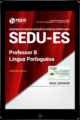 Download Apostila SEDU-ES PDF - Professor P - Língua Portuguesa