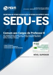 Apostila SEDU-ES - Comum aos Cargos de Professor B