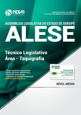 Apostila ALESE-SE - Técnico Legislativo / Área - Taquigrafia
