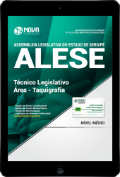 Download Apostila ALESE-SE PDF - Técnico Legislativo / Área - Taquigrafia