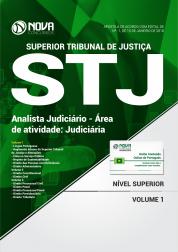 Apostila STJ - Analista Judiciário - Área de Atividade: Judiciária