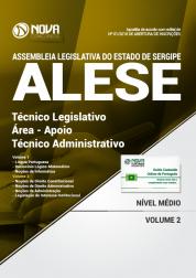 Apostila ALESE-SE - Técnico Legislativo / Área - Apoio Técnico Administrativo