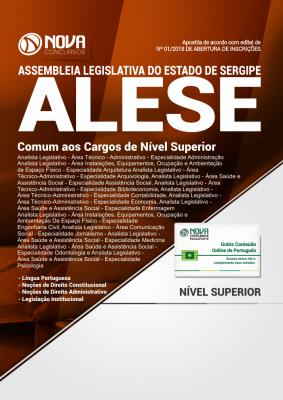 Apostila ALESE-SE - Comum aos Cargos de Nível Superior
