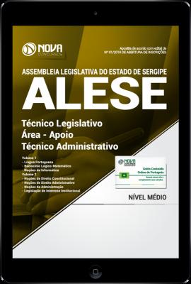 Download Apostila ALESE-SE PDF - Técnico Legislativo / Área - Apoio Técnico Administrativo