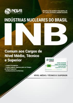Apostila INB - Comum aos Cargos de Nível Médio, Técnico e Superior