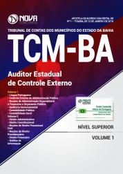 Apostila TCM-BA - Auditor Estadual de Controle Externo